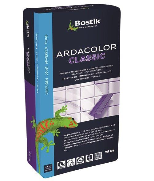 bostik ardacolor classic fuge fliesen fugenm rtel 25kg weiss. Black Bedroom Furniture Sets. Home Design Ideas