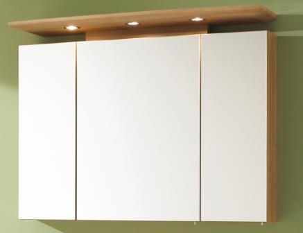 e zoll badm bel spiegelschrank bingo 1000mm x 790mm noce. Black Bedroom Furniture Sets. Home Design Ideas