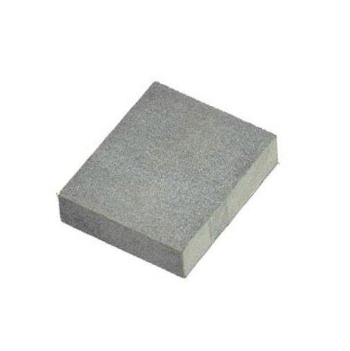 Gummi Schleifstein Schleifblock 80x50x20mm