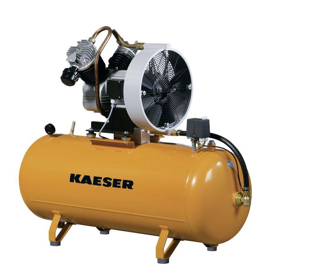 kaeser eurocomp epc 340 100 druckluftkompressor liegend 1 stufig. Black Bedroom Furniture Sets. Home Design Ideas