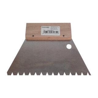 Favorit Leim Klebstoff Zahnspachtel Bodenleger Normalstahl B15 7x5-5mm SS25