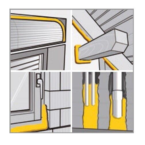 ramsauer universal 1k pu schaum 801 plus b2 500ml dose. Black Bedroom Furniture Sets. Home Design Ideas