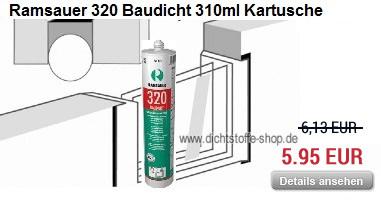 Ramsauer 320 Baudicht 310ml Kartusche