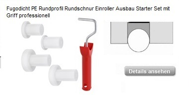 NEU!!! Fugodicht PE Rundschnur Roller Ausbau