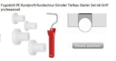NEU!!! Fugodicht PE Rundschnur Roller Tiefbau