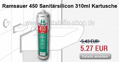 Ramsauer Sanit�r Silicon 310ml Kartusche
